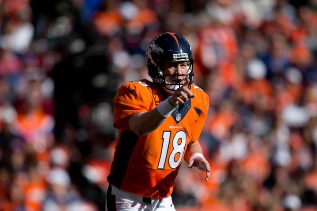Peyton Manning Has Massive Lead in Quest to Win 5th MVP