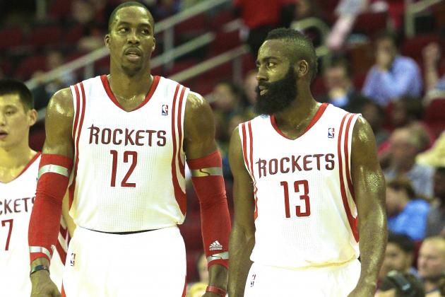 James Harden, Dwight Howard Learning to Play Nice