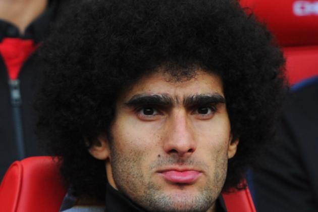 David Moyes Not Happy with Marouane Fellaini Red Card in Manchester United Draw