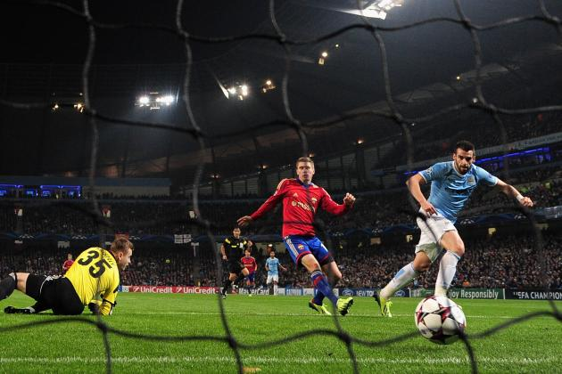 Breaking Down Manchester City's Tactics Against CSKA Moscow