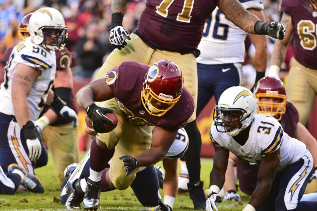 Washington Redskins Succeeding Near Goal Line with New Personnel Packages