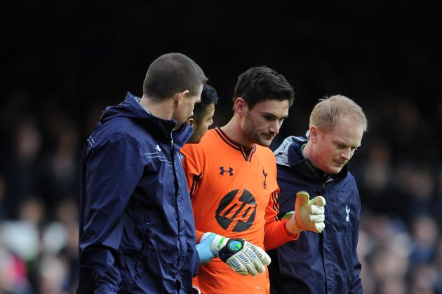 Hugo Lloris Returns to Tottenham Training After Nasty Head Collision