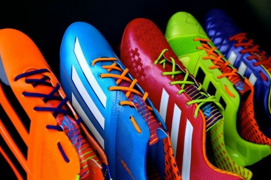 Adidas Unveil Garish 'Samba' Range of Boots Ahead of 2014 World Cup