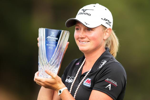 Stacy Lewis Defends at the Mizuno Classic on the LPGA Tour