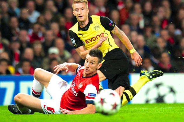 Borussia Dortmund vs. Arsenal: Statistical Champions League Match Preview