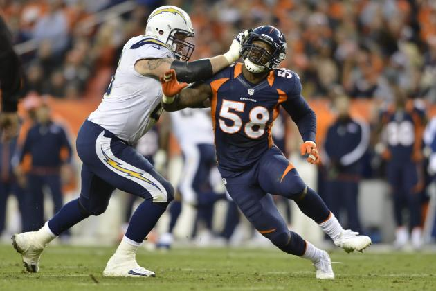 Broncos-Chargers Matchup of the Day