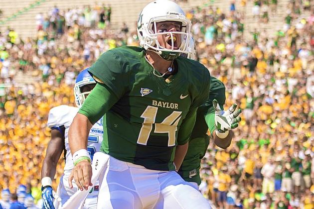 Move Over Johnny Manziel; Baylor's Bryce Petty Is Coming for Your Heisman