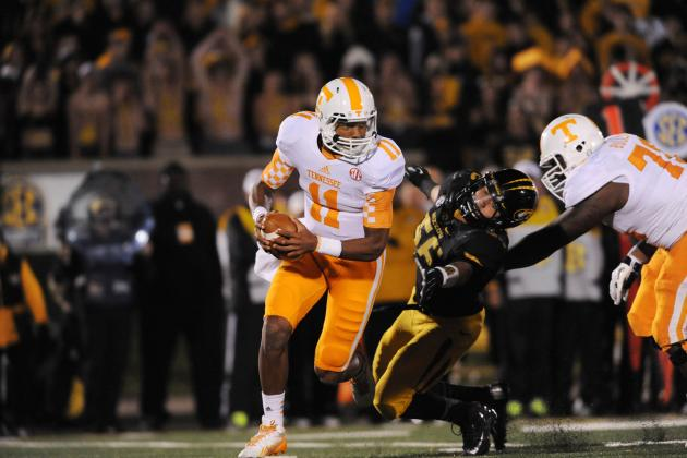 Tennessee Volunteers Football: WR's Getting Timing Down with Josh Dobbs