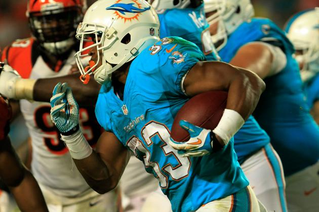 Breaking Down the Miami Dolphins' Short-Yardage Problems