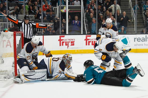 NHL Defends No-Goal Call in Sharks-Sabres OT