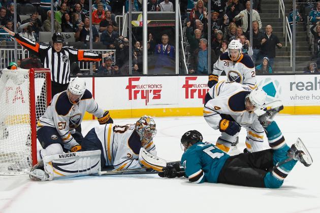 NHL Defends No-Goal Call in Sharks-Sabres OT
