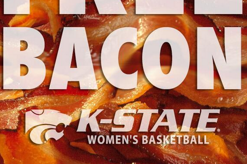 Kansas State Women's Basketball Offers Free Bacon for Attending the Home Opener