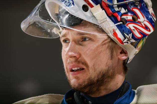 Bobrovsky to Start in Net Thursday After Sitting 2 Games Due to Struggles