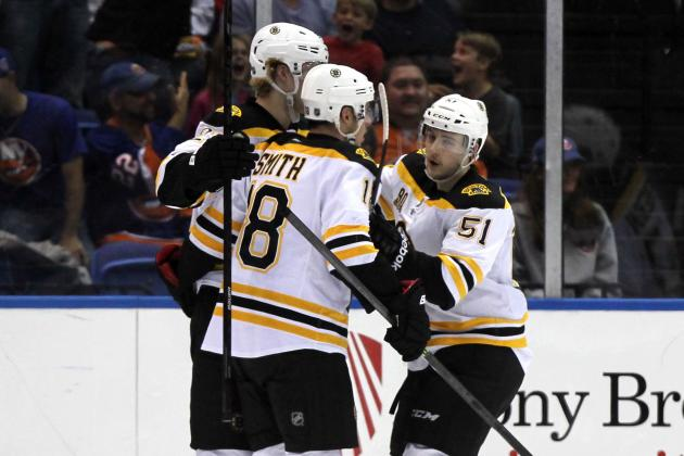 Bruins, Now Healthy, Looking for Offense