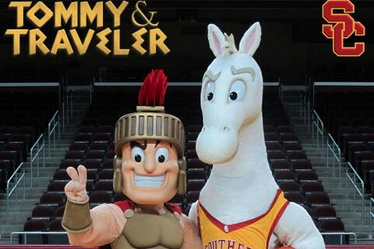 Photo: USC Unveils Two New School Mascots