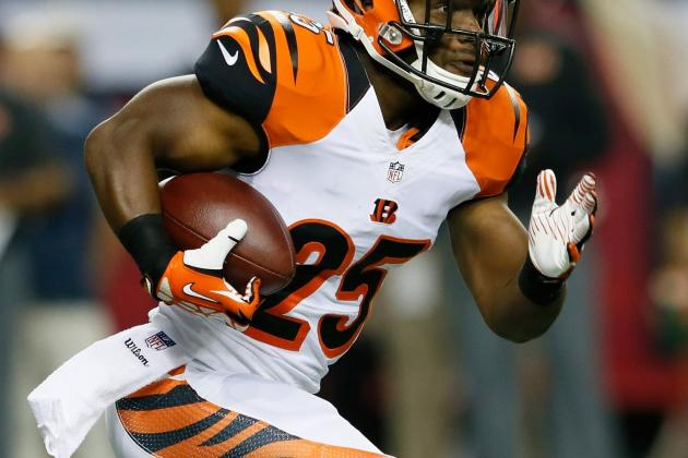 Giovani Bernard: Recapping Bernard's Week 10 Fantasy Performance