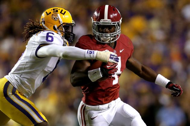 Analyzing How Far LSU, Alabama Offenses Have Come Since 9-6 Game
