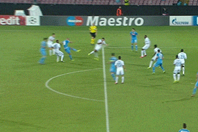 GIF: Gokhan Inler Scores a Screamer for Napoli vs. Marseille in Champions League