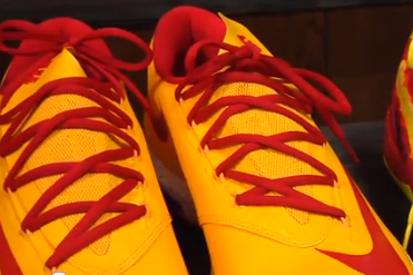 Video: USC Reveals New Custom Kicks For Basketball Season