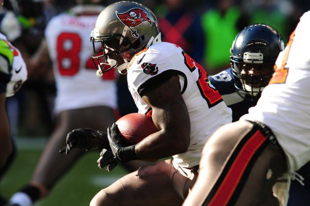 Mike James Can Do It All for Tampa Bay Buccaneers