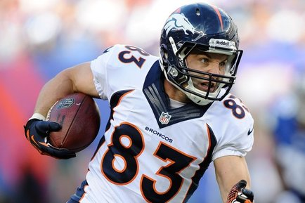 Wes Welker: Week 13 Fantasy Outlook