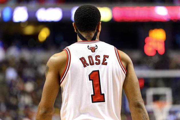 Derrick Rose Told by NBA to Stop Wearing Kinesiotape on His Neck During Games