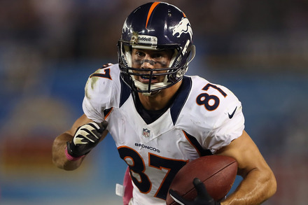 Eric Decker: Week 10 Fantasy Outlook
