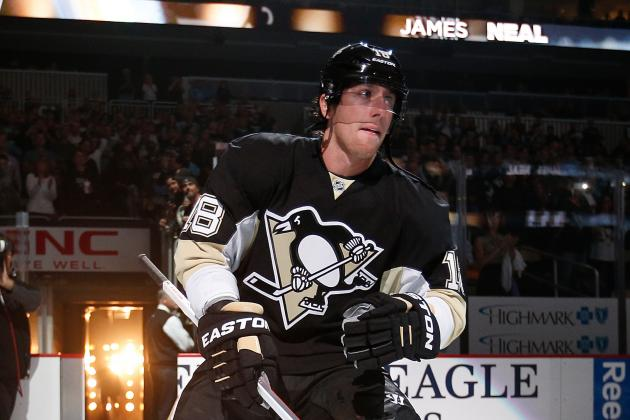 Penguins Energized as Neal Skates with Team