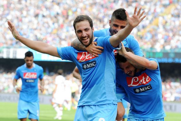 Analysing Gonzalo Higuain's Performance vs. Marseille