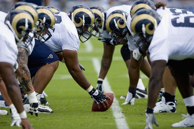 Depth Proving to Be Strength of Rams' Offensive Line