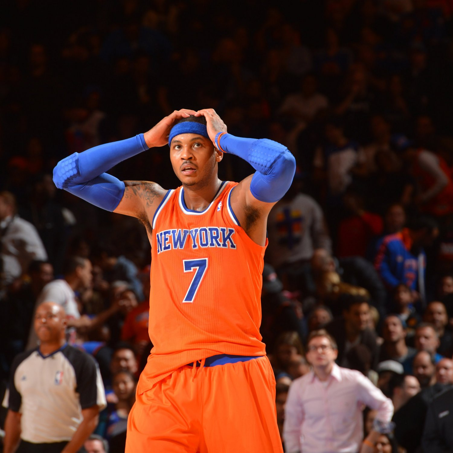 Breaking Get  Can Anthony Knicks Down How Carmelo NY