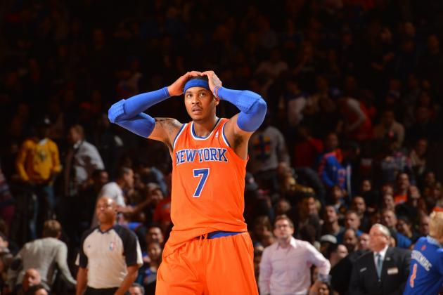 Breaking Down How NY Knicks Can Get Carmelo Anthony Rolling