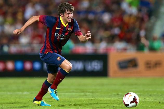 Barcelona Can't Afford to Let Sergi Roberto Become Thiago Alcantara Mark II