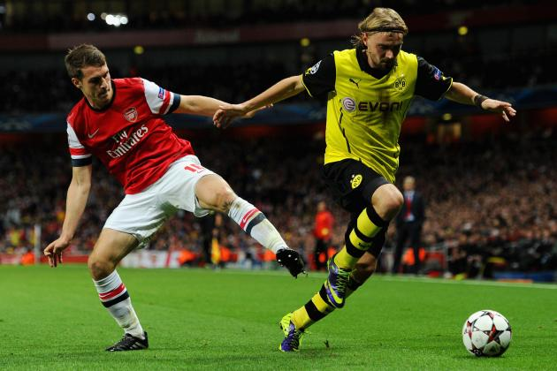 Dortmund vs. Arsenal: Aaron Ramsey Is Becoming Gunners' Answer to Steven Gerrard