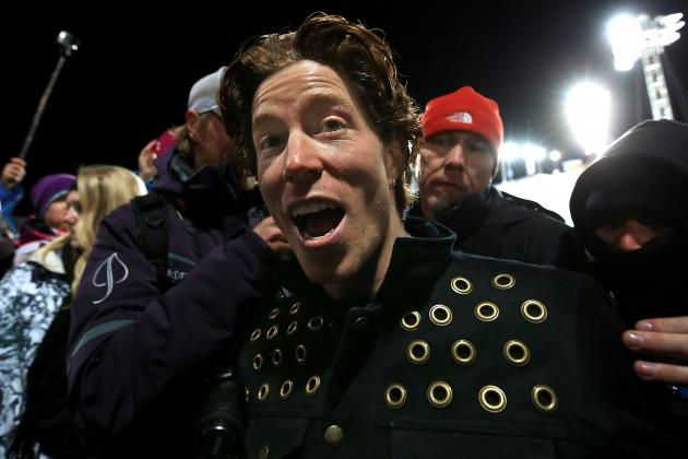Shaun White + Other Top Athletes Registered, Ready for Dew Tour