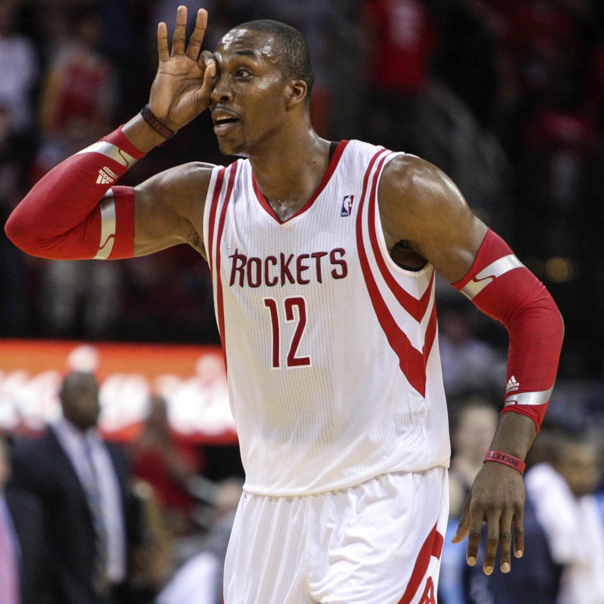 Houston Rockets X Lakers: Dwight Howard's Guide To Trolling Lakers Fans