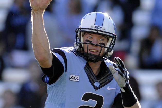 UNC QB Renner's Surgery Is Successful