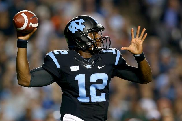 Bryn Renner to UNC Quarterback Marquise Williams