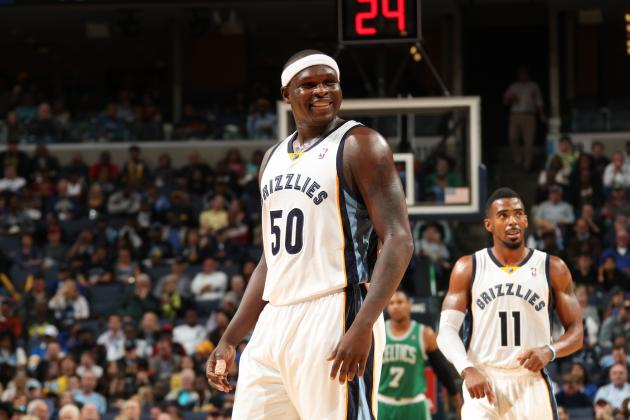 Zach Randolph Leaves Grizzlies Game to See His Child Born