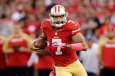 Colin Kaepernick: Week 12 Fantasy Outlook