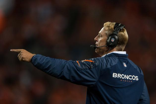 "Del Rio Says He'll Have ""Very Little"" Input on Broncos' Offense"