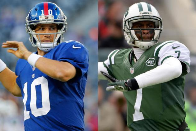 Debating Geno Smith vs. Eli Manning as New York's Best Quarterback