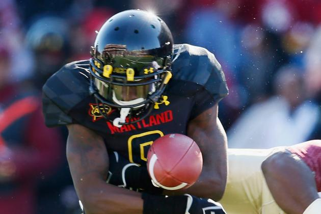 Maryland WR Jacobs Squares off Against Former Teammate Broyld