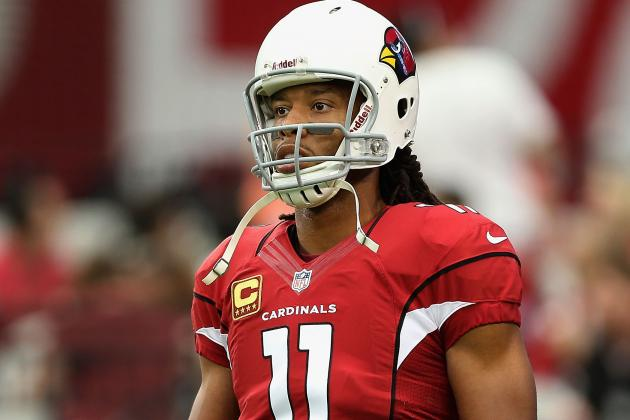 Arizona Cardinals' Larry Fitzgerald Benefits from Time off