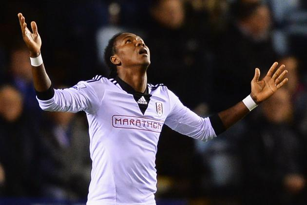 Fulham Striker Hugo Rodallega out for Five to Six Weeks