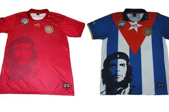 Brazilian Club Madureira Put Face of Che Guevara on Shirts
