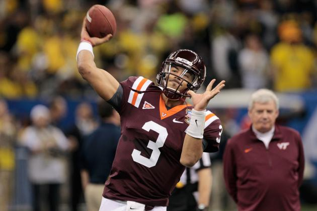 Frank Beamer Sticking with Logan Thomas