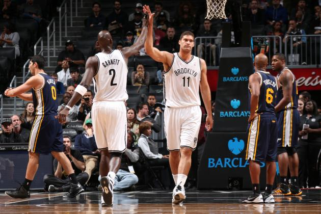 Nets Get KG's Message Loud and Clear