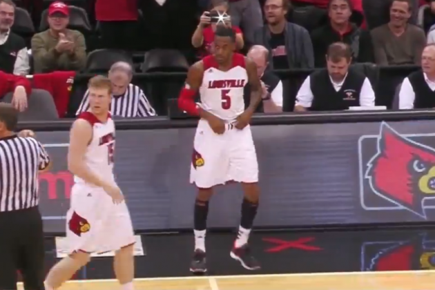 Kevin Ware Returns to Louisville Lineup for First Time Since Broken Leg