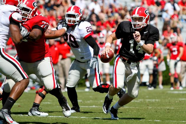 Georgia Football: Mark Richt, Please Let Hutson Mason Throw a Pass